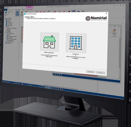 Software Superbonus 110 - Centodieci - Screen 1