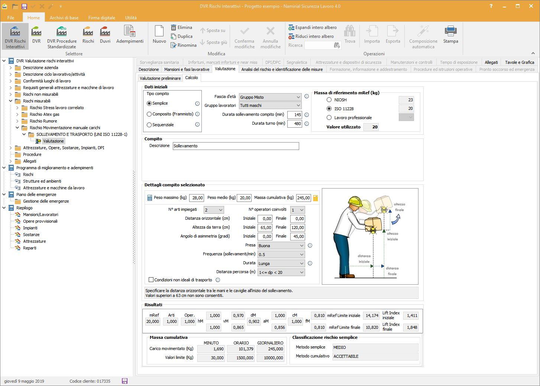 Valutazione rischi - Software Sicurezza Lavoro