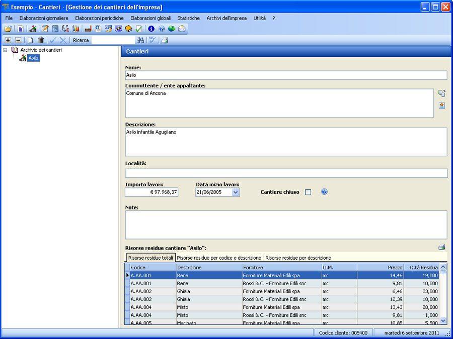 Software Contabilità Cantieri - Gestione cantieri impresa