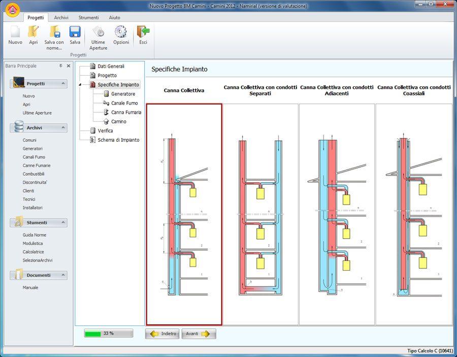 Software progettazione camini