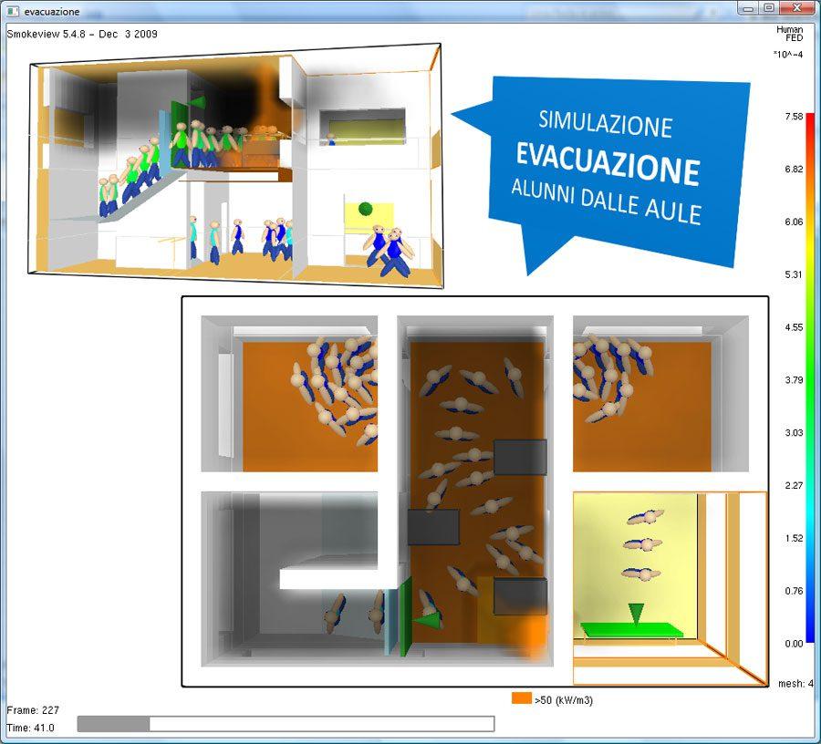 CPI win FSE - EVAC - Simulazione evacuazione scuola