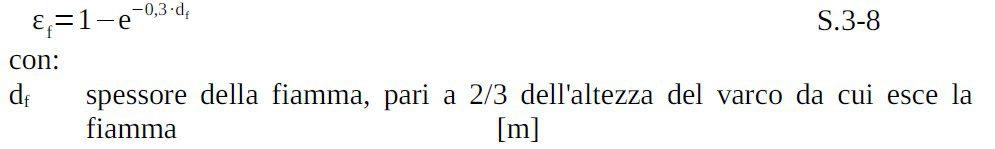 formula potenza termica 3