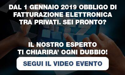 Segui il video evento sulla fatturazione elettronica