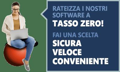 Acquista i nostri software a rate, fai una scelta sicura veloce e conveniente