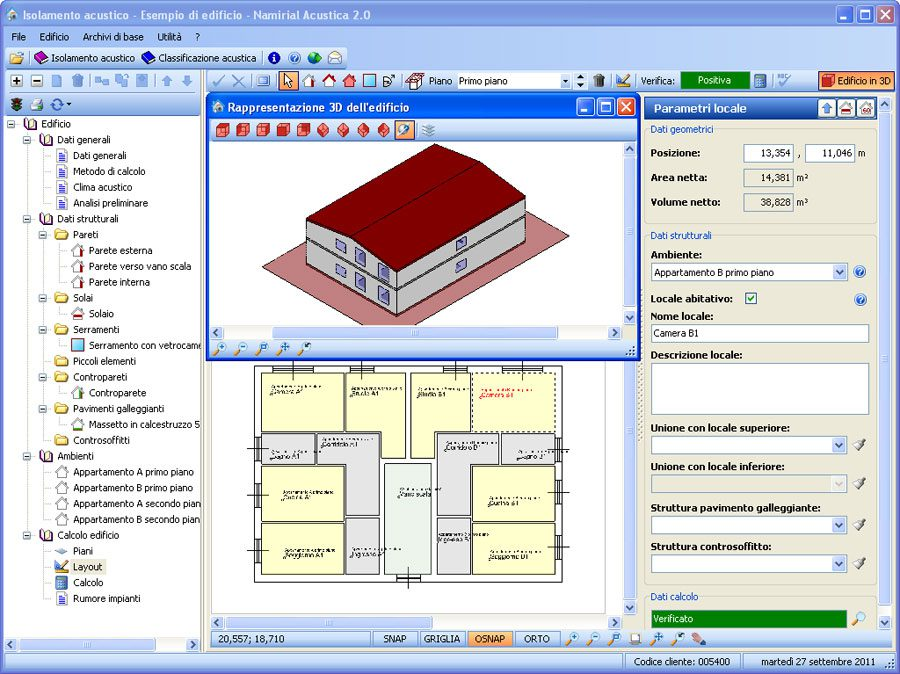 Software Acustica - CAD integrato