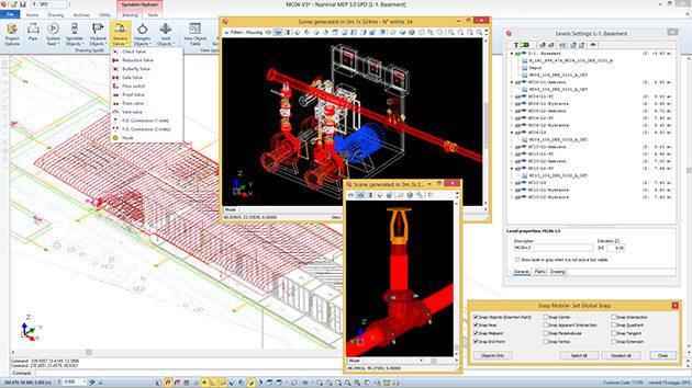 Software Progettazione Impianti Antincendio - CPI win Impianti