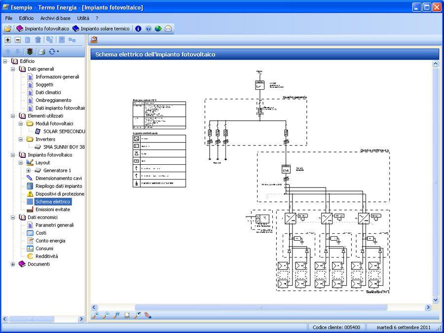 Software per la progettazione di impianti fotovoltaici