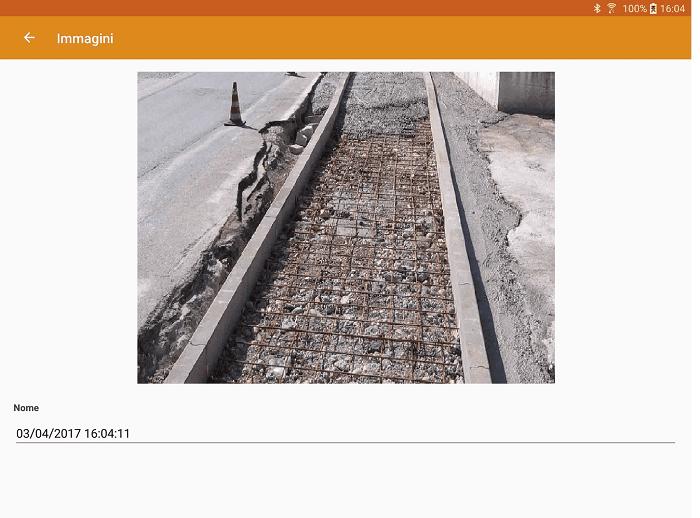App LibrettoMisure - Inserimento immagine