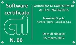 Certificato CTI Termo
