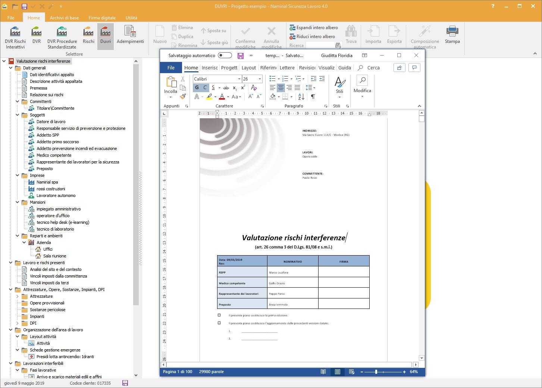 Software valutazione rischi interferenze - Software Sicurezza Lavoro