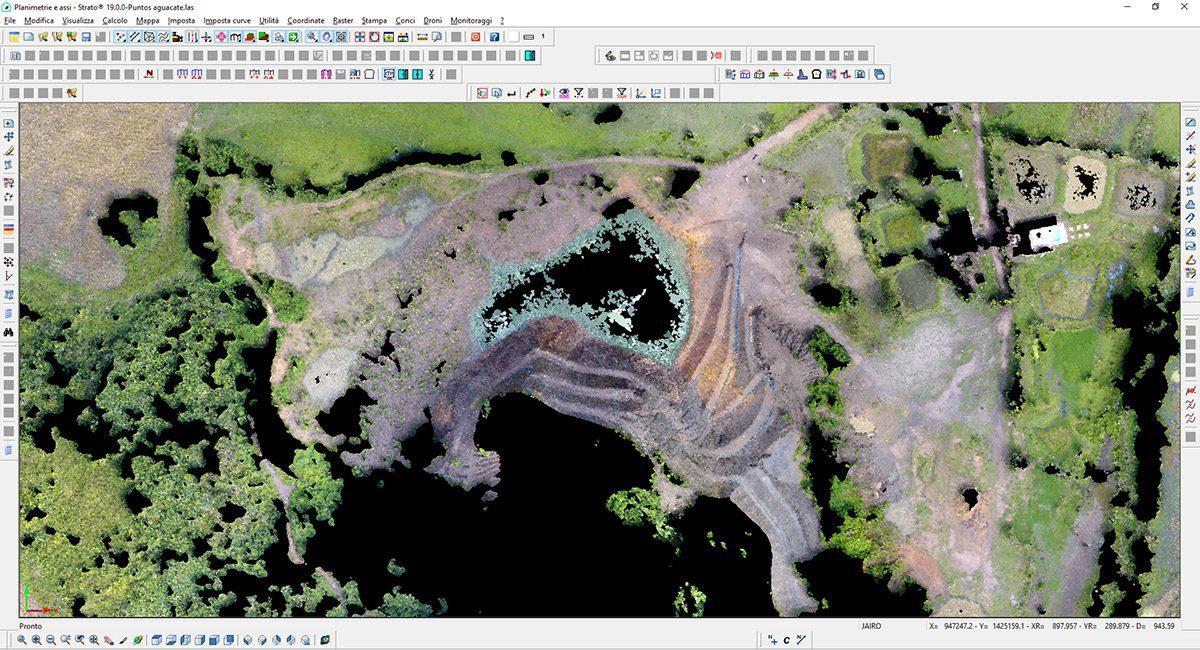 Strato - Software topografia drone