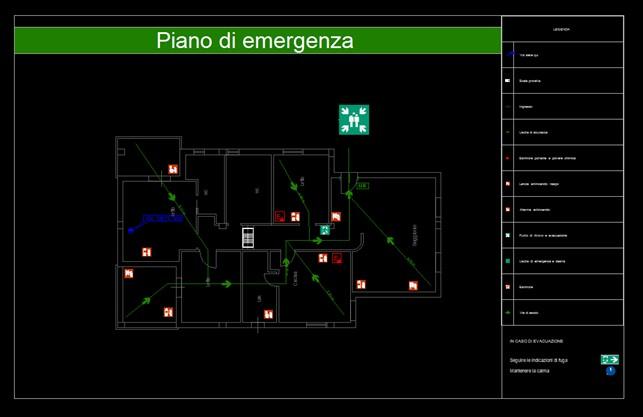 CPI CAD - Piano di emergenza