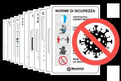 Segnaletica - COVID-19