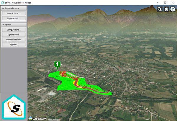 Strato - Visualizzatore mappe