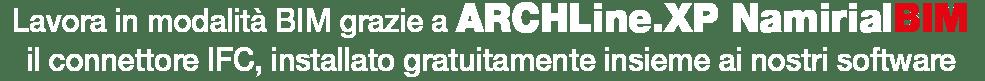 ARCHLine.XP Namirial BIM - SAIE 2018