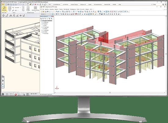 Software BIM analisi strutturale - CMP