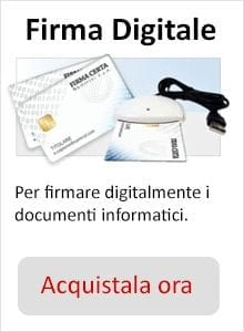 Acquista firma digitale
