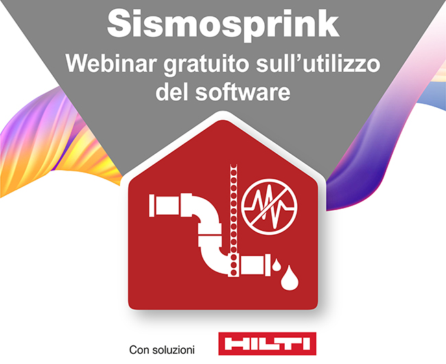 Webinar utilizzo software Sismosprink