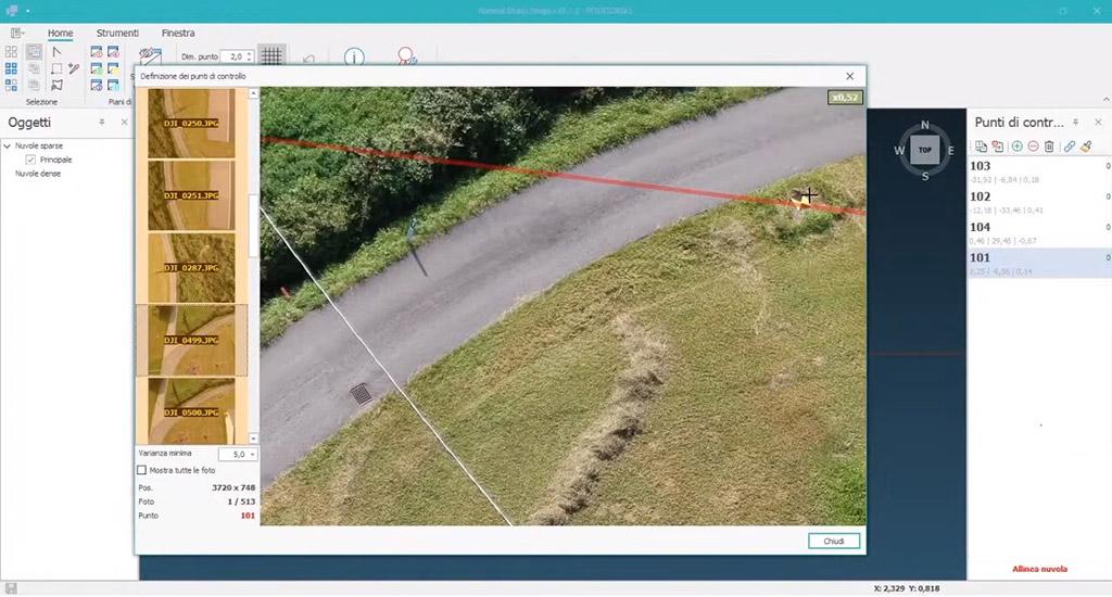 software topografia e fotogrammetria