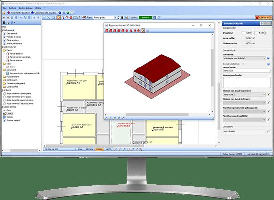 Visualizzazione 3D - Acustica