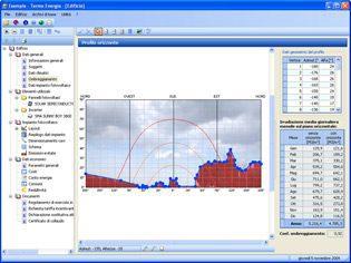 Ombreggiamenti impianto fotovoltaico - software fotovoltaico