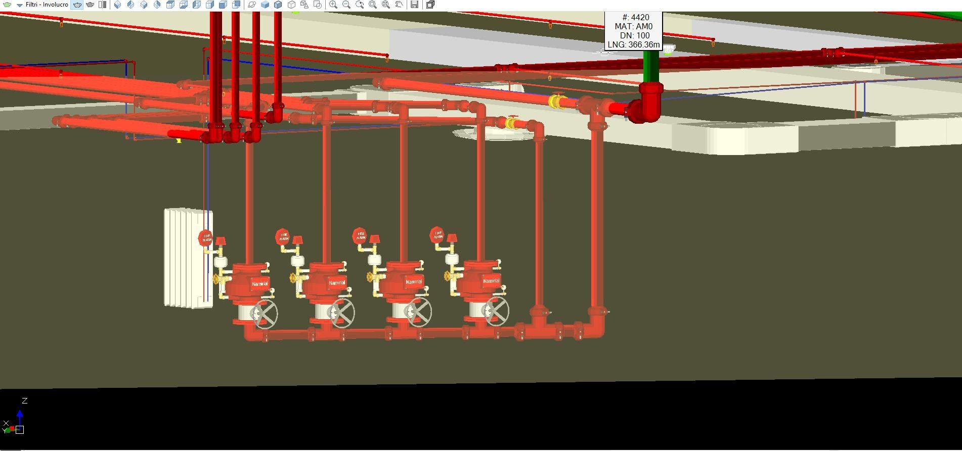 progettazione canali aria - 0
