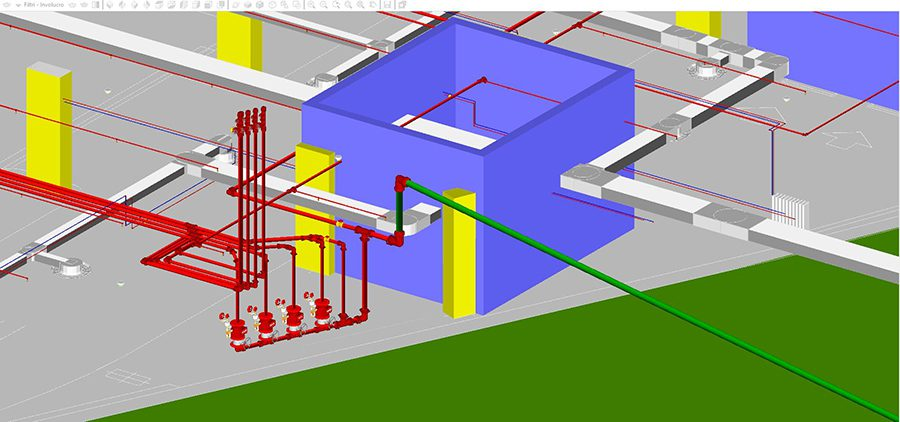 progettazione canali aria