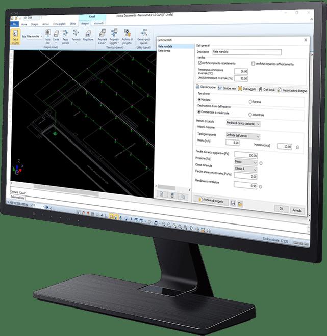 Software progettazione canali d'aria