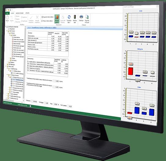 Software per la compilazione dei protocolli ITACA e VEA