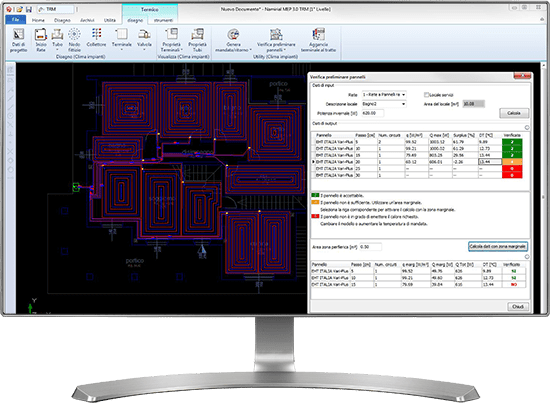 Software pannelli radianti - Clima Impianti