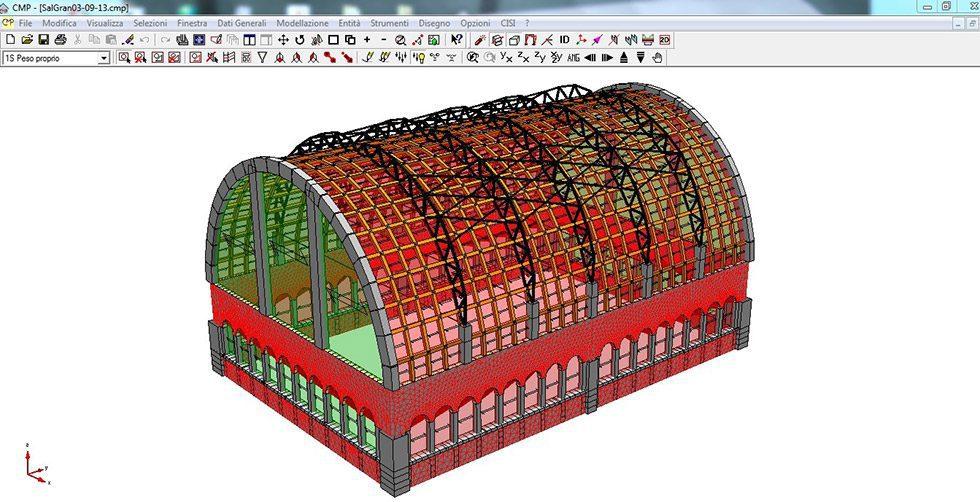 Modellazione con il software di analisi strutturale namirial cmp