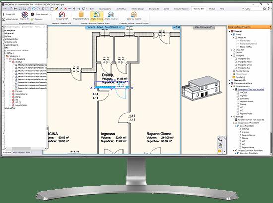 Software certificazione energetica BIM - Termo