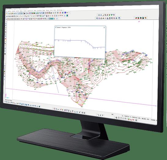Software topografia - Rilievi da stazione totale e GPS